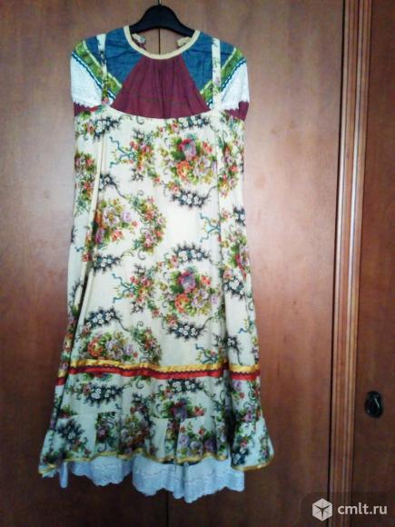 Русское народное платье.. Фото 1.