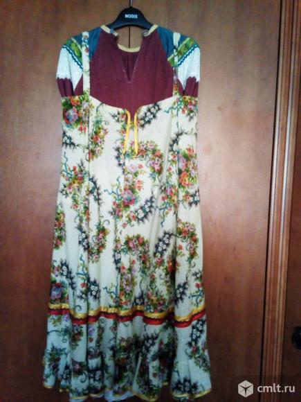 Русское народное платье.. Фото 2.