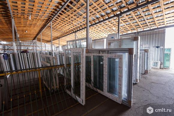 Окна пластиковые, для квартиры или дачи, нов., 100 шт. Фото 1.