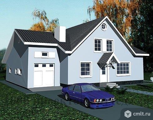 Двухэтажный кирпичный дом с на 182 кв. м с гаражом.. Фото 1.