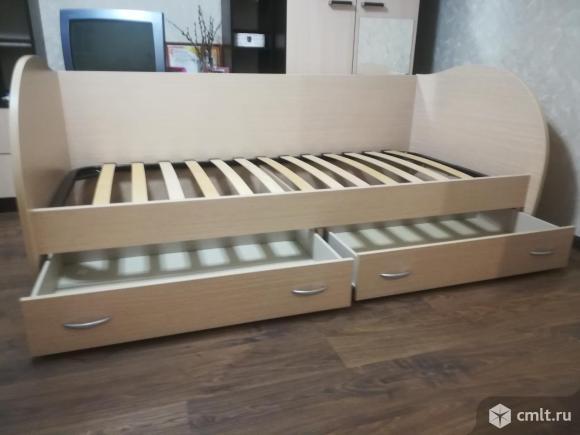 Продам детскую кровать с матрасом.. Фото 1.