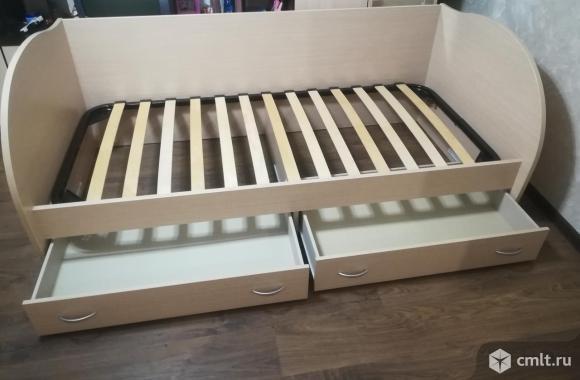 Продам детскую кровать с матрасом.. Фото 6.