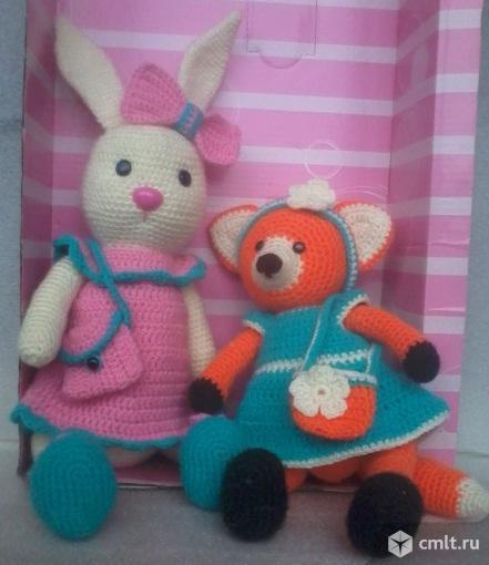 Вязанные игрушки. Фото 1.