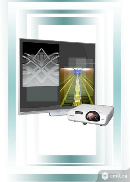 Интерактивная доска для детсада InTeSPro NewLine KB30-75. Фото 1.