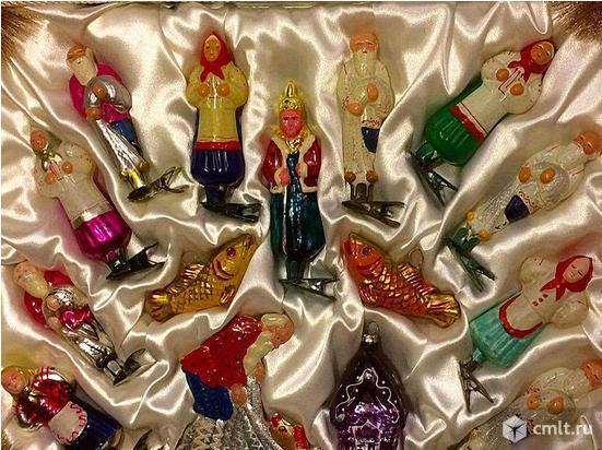Елочные украшения, елочные игрушки.. Фото 1.
