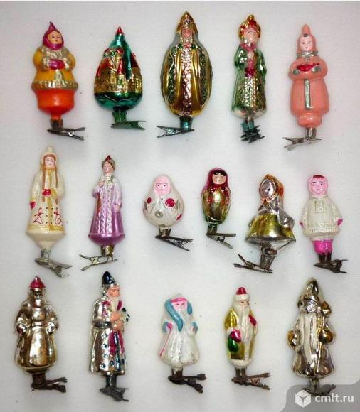 Елочные игрушки и елочные украшения.. Фото 1.