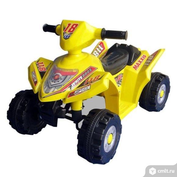 Новый электро квадрацикл детский. Фото 1.