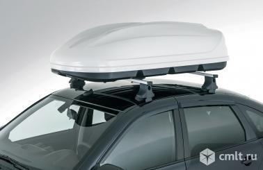 Аэродинамический бокс на крышу автомобиля. Фото 1.