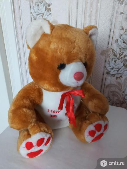 Мягкая игрушка Медвежонок. Фото 3.