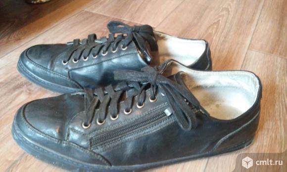 Туфли, кожзам, мужск. Фото 1.