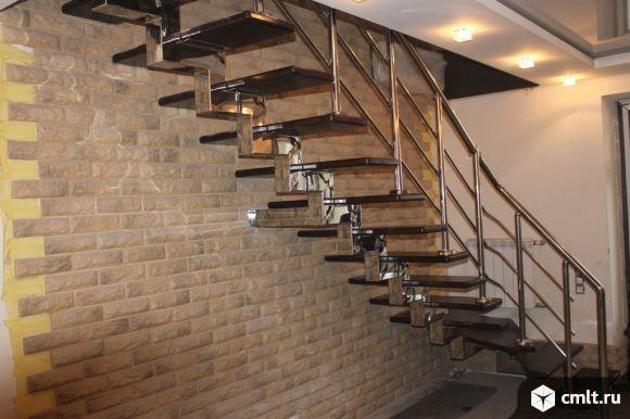 Лестницы на металлической основе межэтажные. Фото 16.