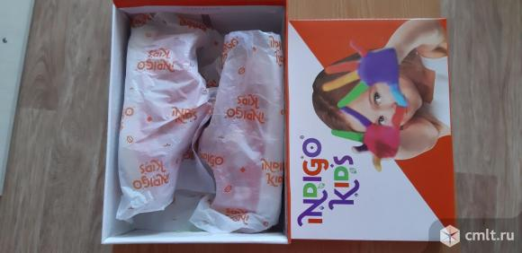Полуботинки демисезонные Indigo kids 22 размера для девочки. Фото 7.