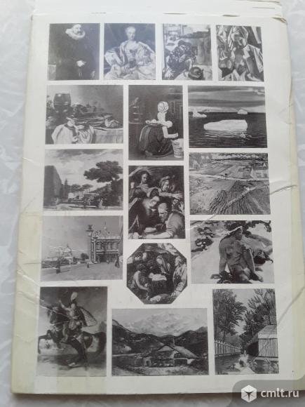 Набор открыток Государственный музей изобразительных искусств имени А.С.Пушкина 1987 год. Фото 6.