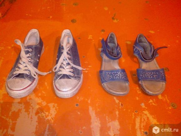 Обувь детская кеды. Фото 1.