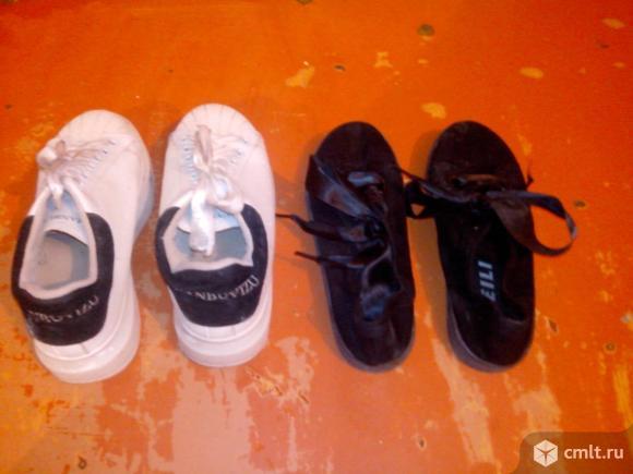 Детские кроссовки. Фото 3.