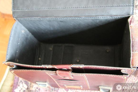 Портфель кожаный ручной работы. Фото 11.