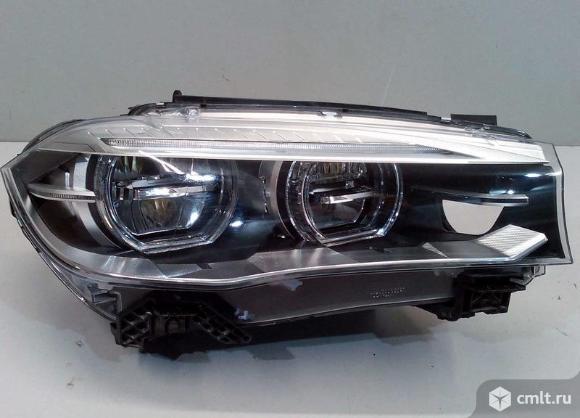 Фара правая LED BMW X5 F15 / X6 F16 13- б/у 63117442648 3*. Фото 1.