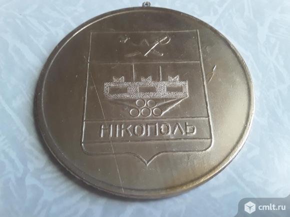 Большая медаль 200 лет Никополь лег/мет.. Фото 5.