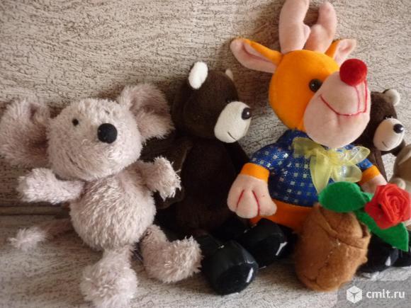 Мягкие игрушки. Фото 4.
