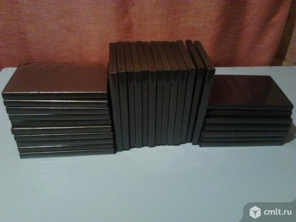 Коробки-боксы для DVD\CD. Фото 1.