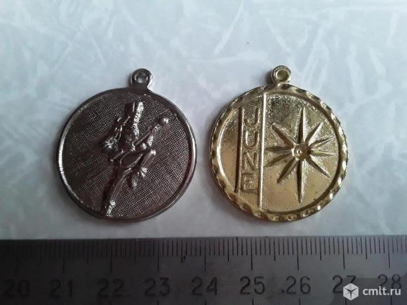 2шт. Медали. Фото 1.