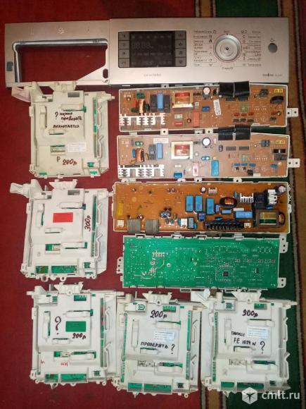 Платы от стиральных машин под ремонт или на запчасти. Фото 1.