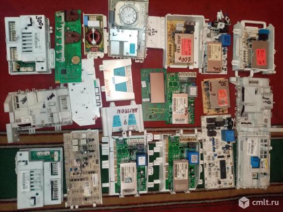 Платы от стиральных машин под ремонт или на запчасти. Фото 3.