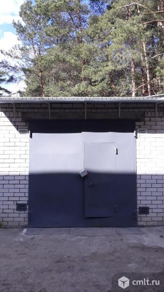 Двухуровневый гараж 45,3 кв.м.+зем. участок в собственности. Фото 1.