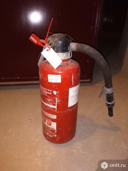 Огнетушитель порошковый 2 вида. Фото 1.