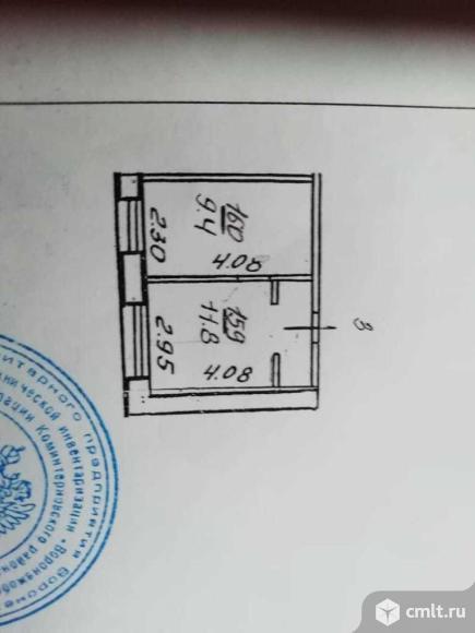 Две комнаты 10 кв.м. Фото 1.