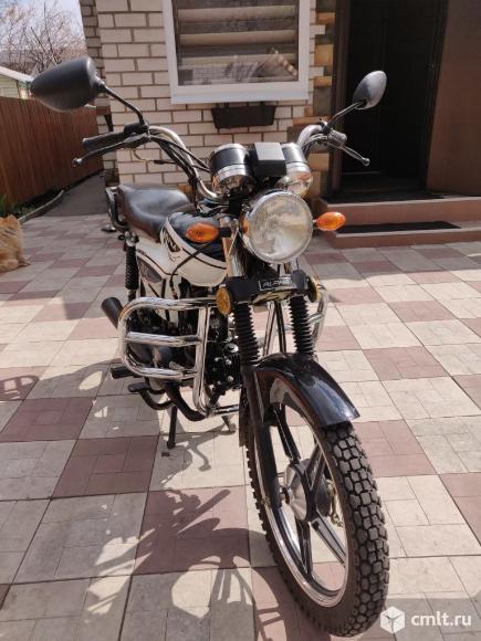 Мотоцикл Alpha RX 125 кубов. Фото 1.