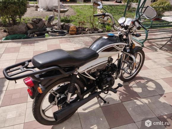 Мотоцикл Alpha RX 125 кубов. Фото 4.