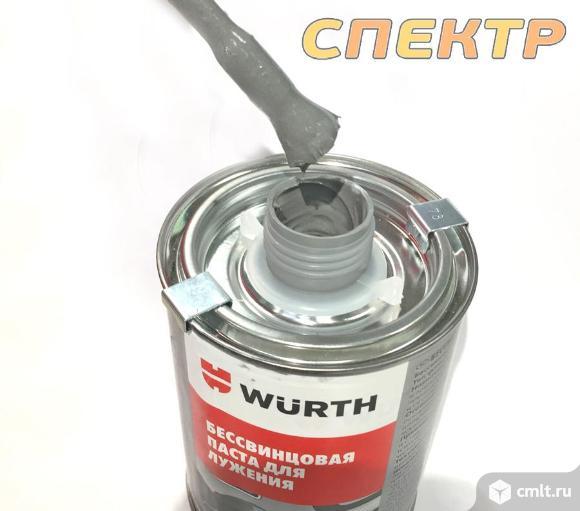 Паста для лужения Wurth (1кг) бессвинцовая. Фото 2.