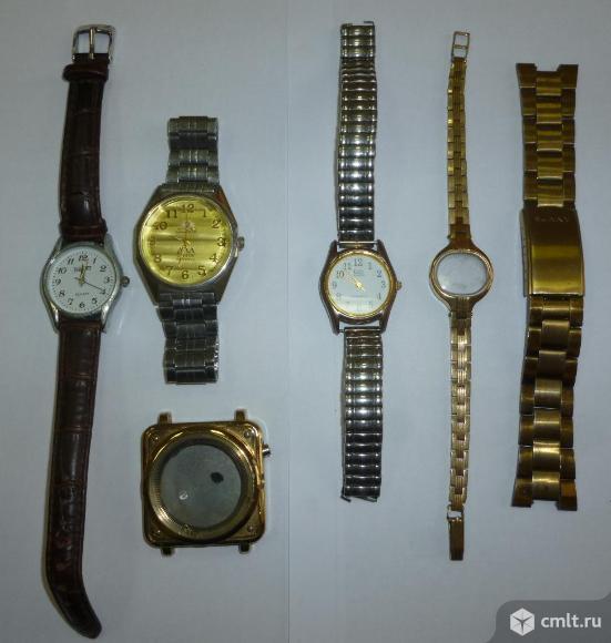 Часы, браслеты, корпуса часов. Фото 1.
