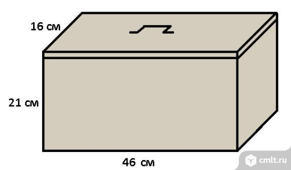 Ящик металлический. Фото 1.