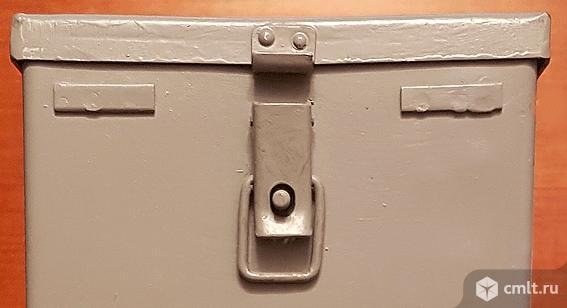 Ящик металлический. Фото 5.