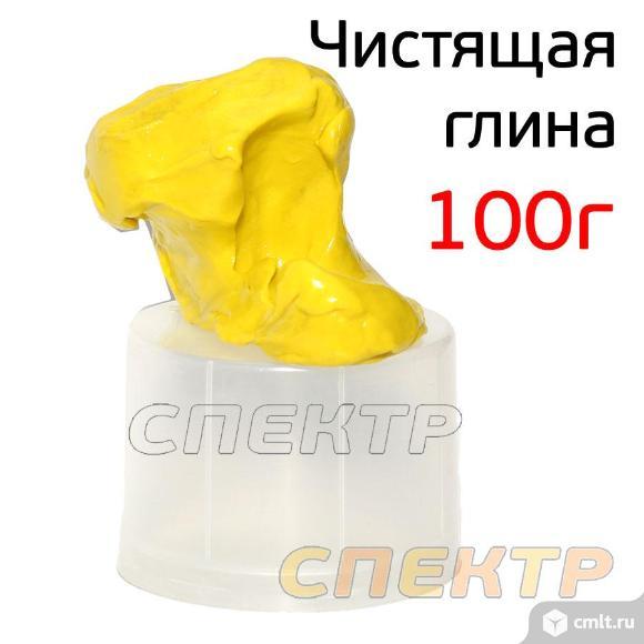 Глина для очистки кузова NANO CLAY (100г) ЖЕЛТАЯ. Фото 3.
