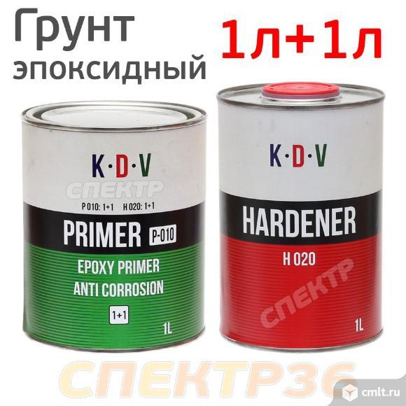 Грунт эпоксидный 2К K.D.V. (1л+1л) антикоррозийный. Фото 1.