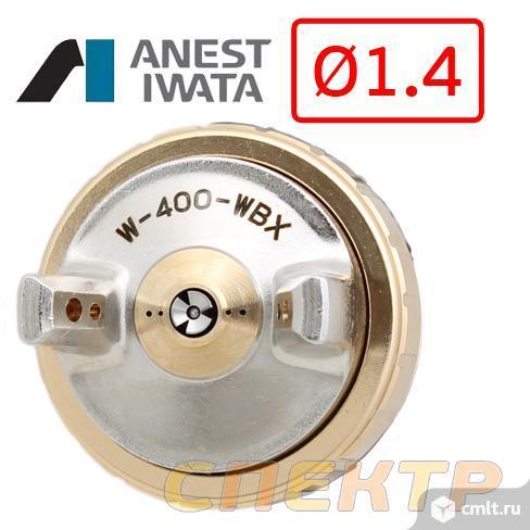 Краскопульт IWATA W-400 WBX (1,4мм) + манометр. Фото 2.