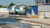 машины для доставки бетона с трубой