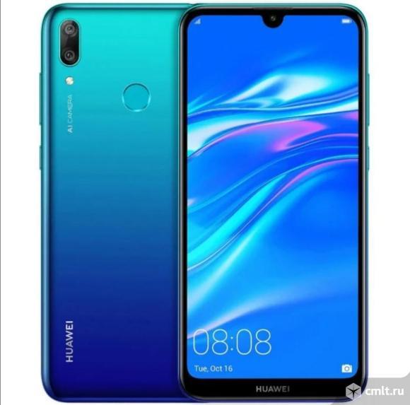Как новый гарантия смартфон Huawei Y7 2019. Фото 2.