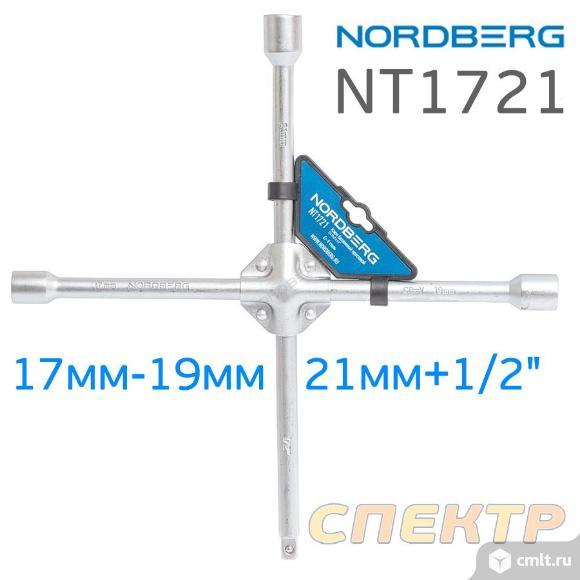 Ключ баллонный крест усиленный NORDBERG NT1721 (17. Фото 2.