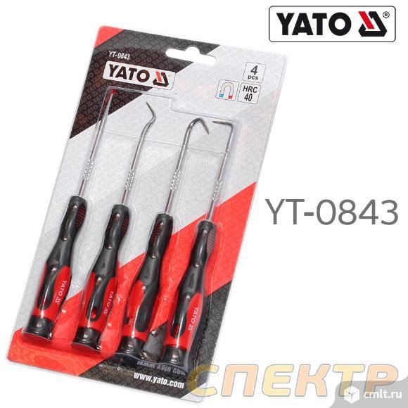 Набор крючков-захватов заостренных YATO YT-0843. Фото 2.