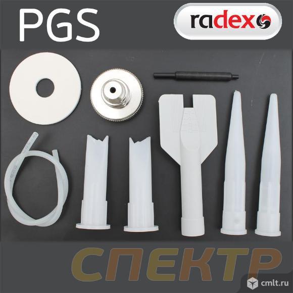 Пистолет для распыляемых герметиков RADEX PGS. Фото 3.