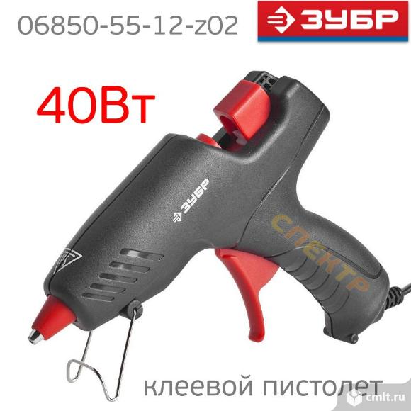 Пистолет клеевой ЗУБР 40Вт (ф12мм, 220В). Фото 2.