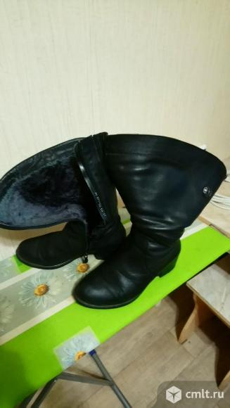 Обувь женская (зима-осень), кожа (импорт). Фото 1.