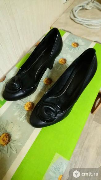 Обувь женская (зима-осень), кожа (импорт). Фото 9.