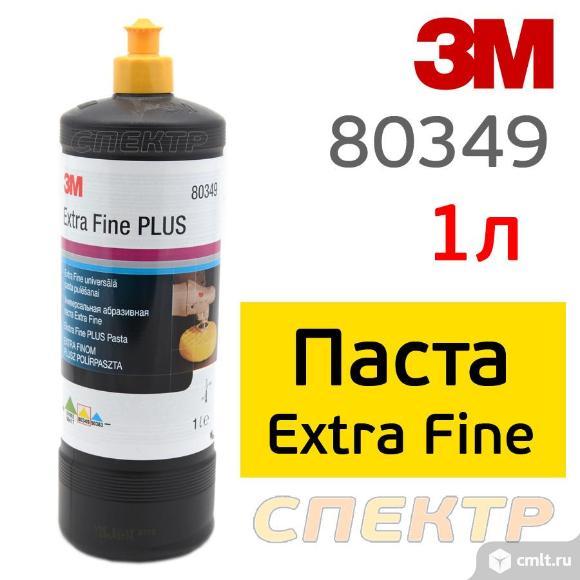 Полироль 3M 80349 Extra Fine 1л для твердых лаков. Фото 1.