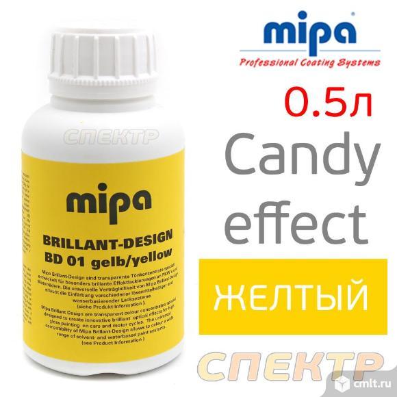 Тонирующий концентрат CANDY Mipa (0,5л) желтый. Фото 1.