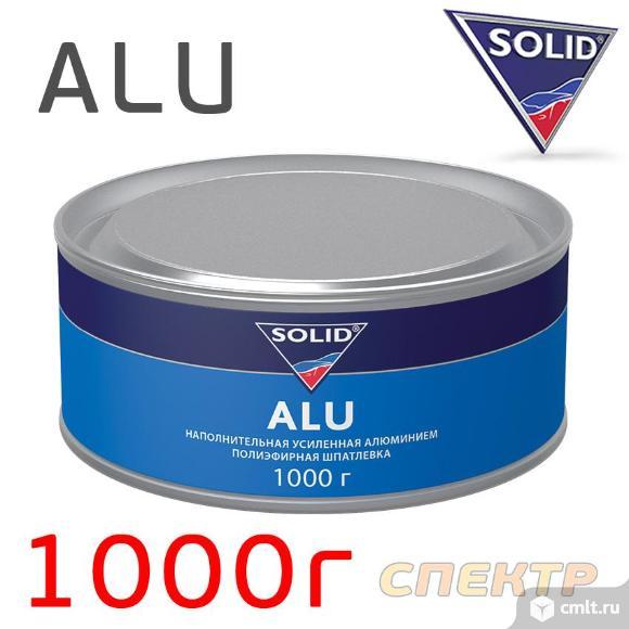 Шпатлевка с алюминием Solid ALU (1,0кг). Фото 1.